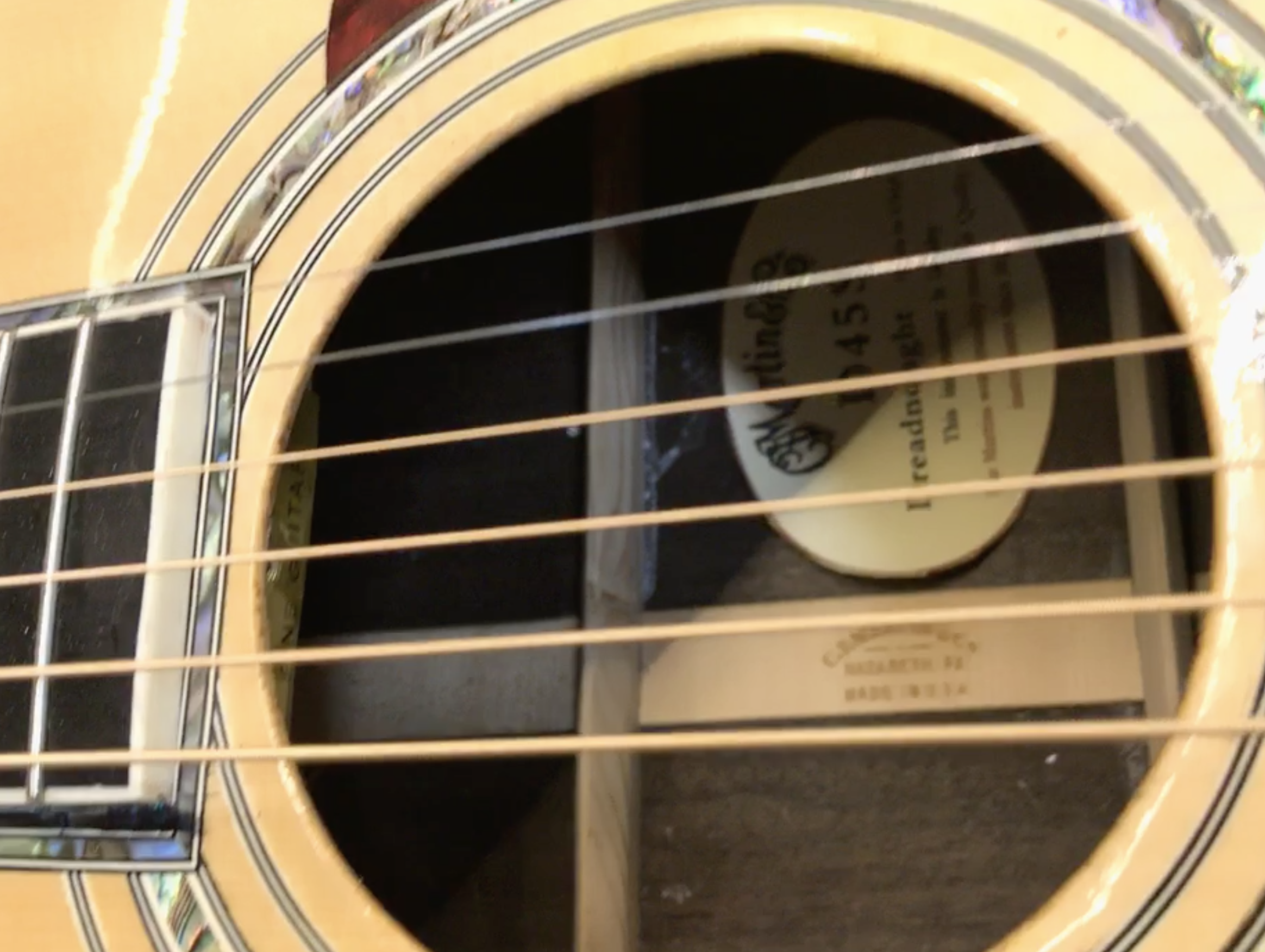 How To Spot A Counterfeit Guitar: Martin D-45 Forgery vs  A Real