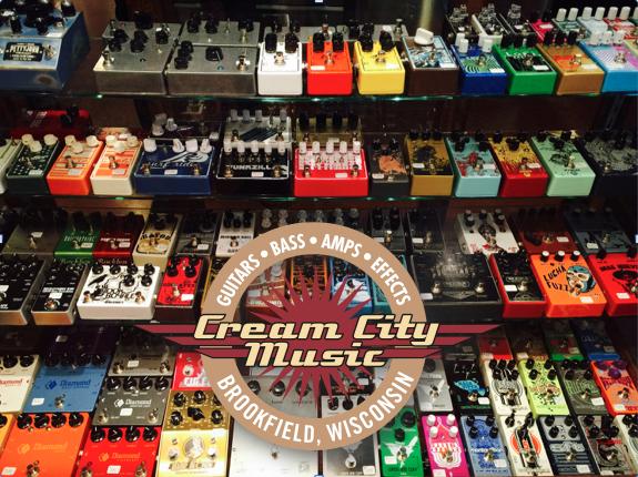 Cream City Music Pedal Selection