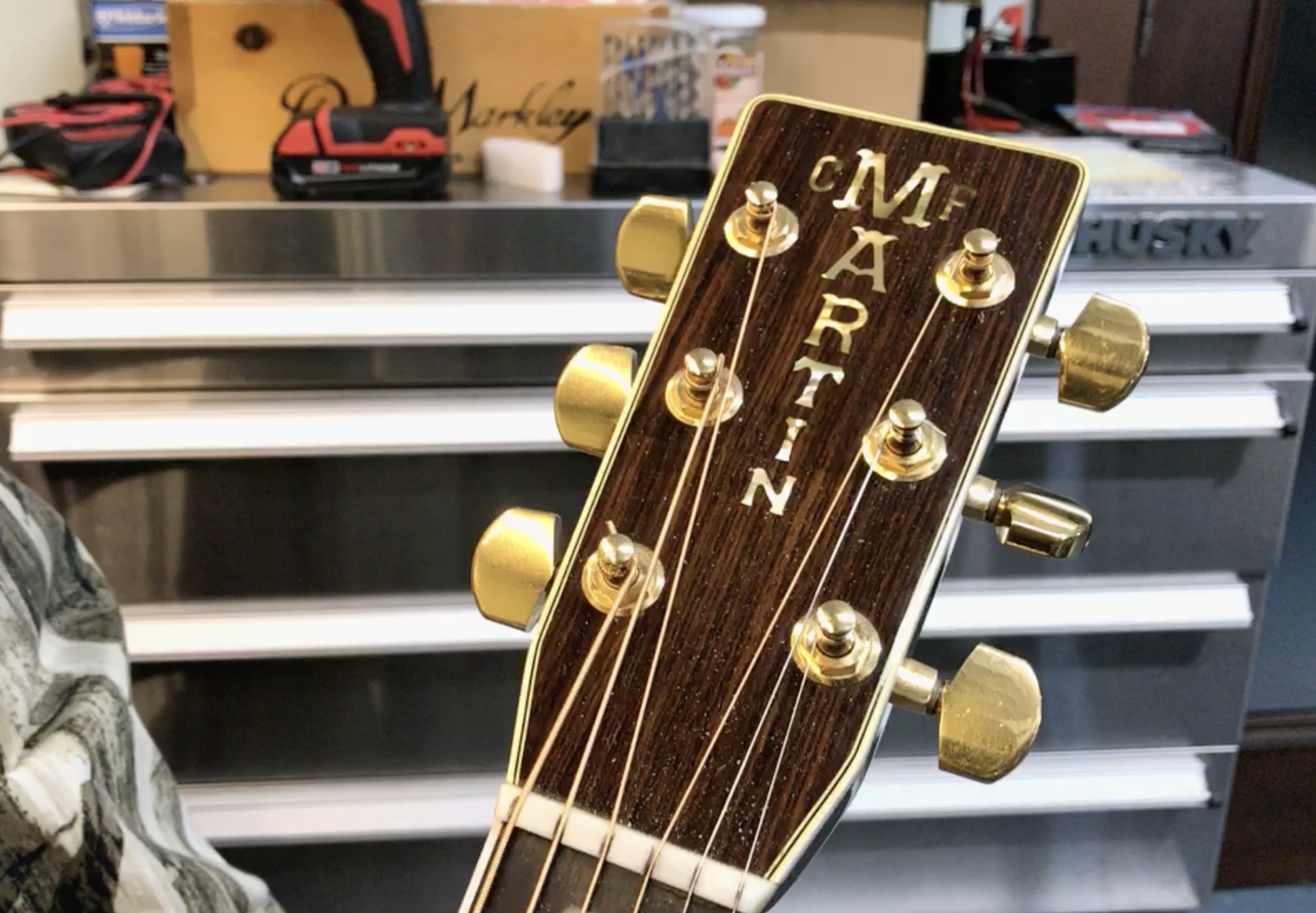 How To Spot A Counterfeit Guitar: Martin D-45 Forgery vs  A